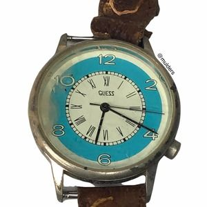 Vintage Guess Roman Numeral Wrist Watch